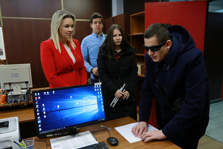Grad Beograd – prva lokalna samouprava sa štampačem na Brajevom pismu
